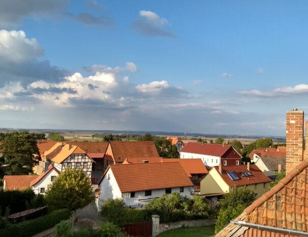 Blick über Dingelstedt